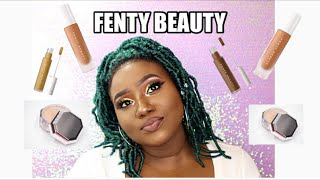 In Depth Review | Fenty Beauty Concealer 420, Setting Powder in Cashew & Foundation 445