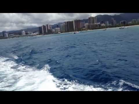 Honolulu Skyline From The Cruise