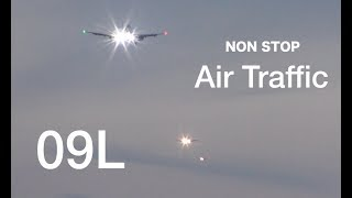 Non Stop Air Traffic over Windsor Castle to London Heathrow Airport