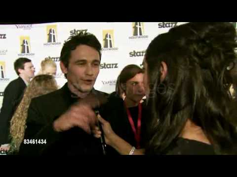 Interview 1of 2: James Franco at 12th Annual Hollywood Film Festival -2008
