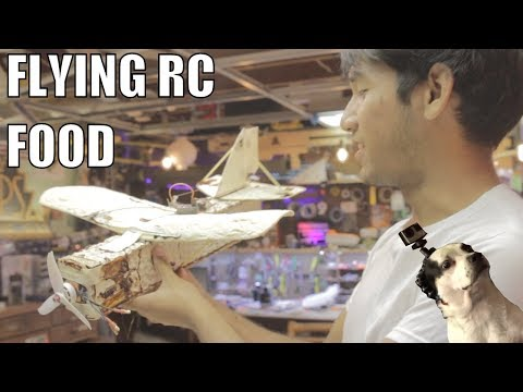 Thumbnail: RC Airplane Made of FOOD (with William Osman)