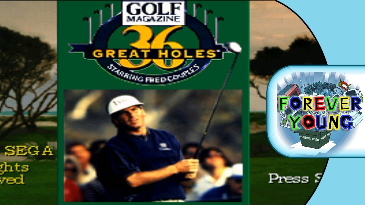 Golf Magazine 36 Great Holes Starring Fred Couples 32X 1995 - Sega 32X - Forever Young