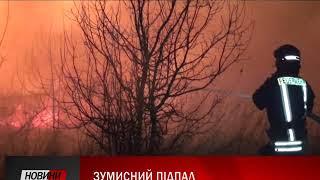 22 січня поблизу міжнародного арепорта що у Івано-Франківську сталася масштабна пожежа