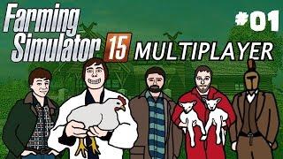 Farming Simulator 2015 Multiplayer Gameplay Part One!