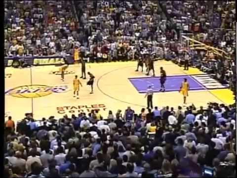 Lakers @ 76ers - Finals NBA 2001, GM 1. 4/4