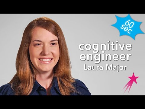 60 Seconds With a Cognitive Engineer: Laura Major