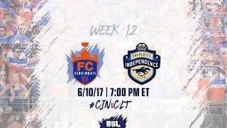 FC Cincinnati vs Charlotte Independence full match