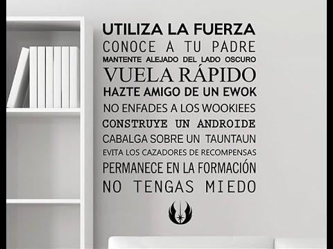 Textos frases y palabras en vinilo adhesivo como la mejor - Decoracion de paredes con vinilos ...