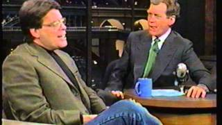 Stephen King on The Late Show With Dave Letterman - 1996