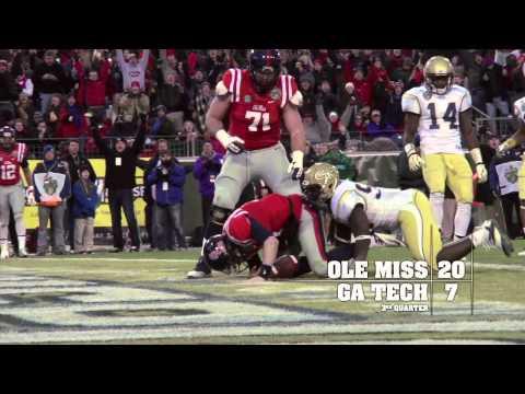 Ole Miss Football 2013: Music City Bowl