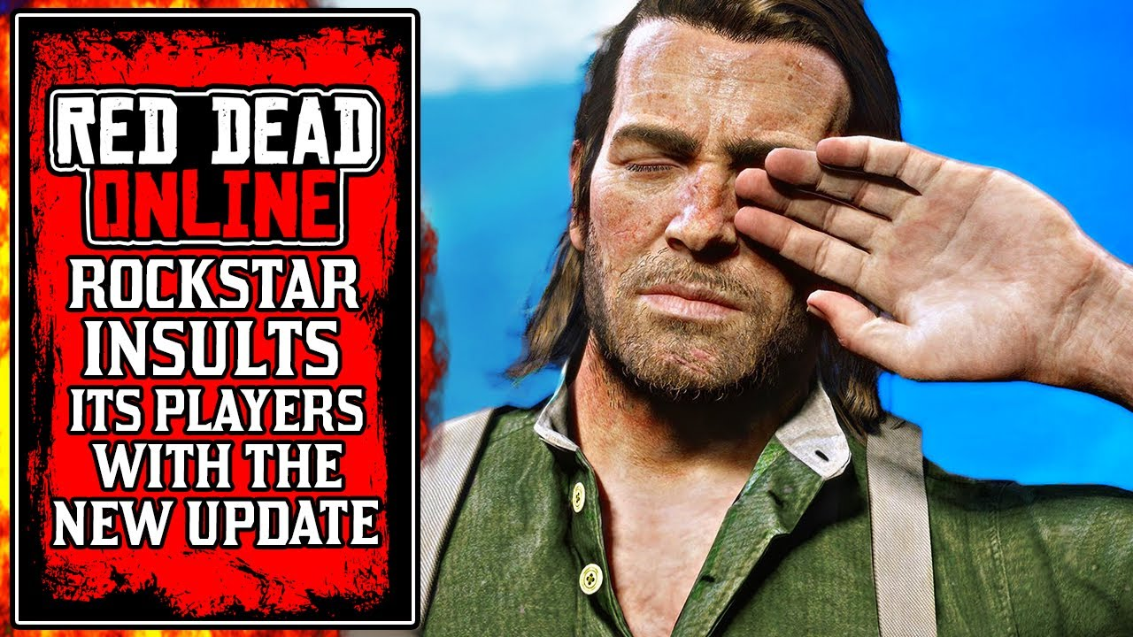 Rockstar Just INSULTED Players This Week.. Today's New Red Dead Online Update (RDR2)