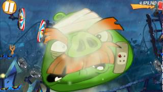 Daily Challenge 2 King Pig Panic Completed & 3 King Pig Panic Not Completed Angry Birds 2 w
