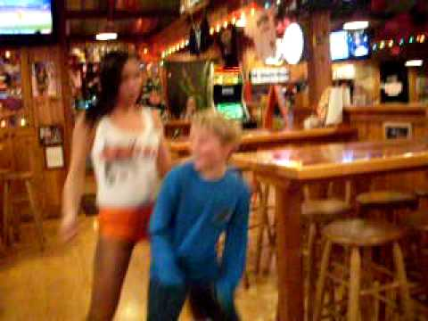 Charlie has a wild night at Hooters