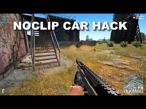 [PUBG] NOCLIP HACK ON CARS