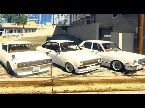 "GTA 5 FiveM Street Drifting w/Haggard Garage! ALL WHITE ""SIDEWAYS INC"""