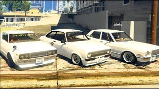 GTA 5 FiveM Street Drifting w/Haggard Garage! ALL WHITE 'SIDEWAYS INC'