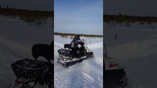 Буран АДЕ и снегоход СКАНДИК