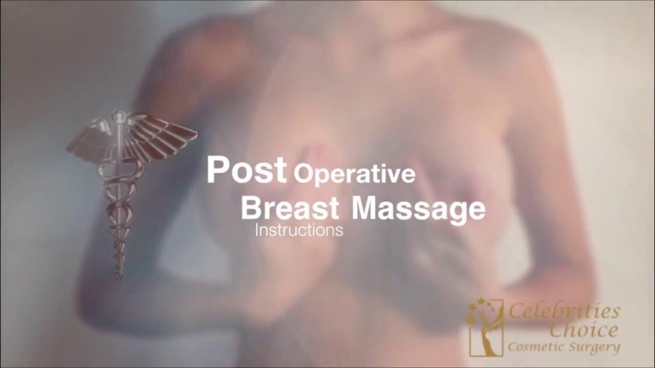 Post Operative Breast Massage Instructions Fin Youtube