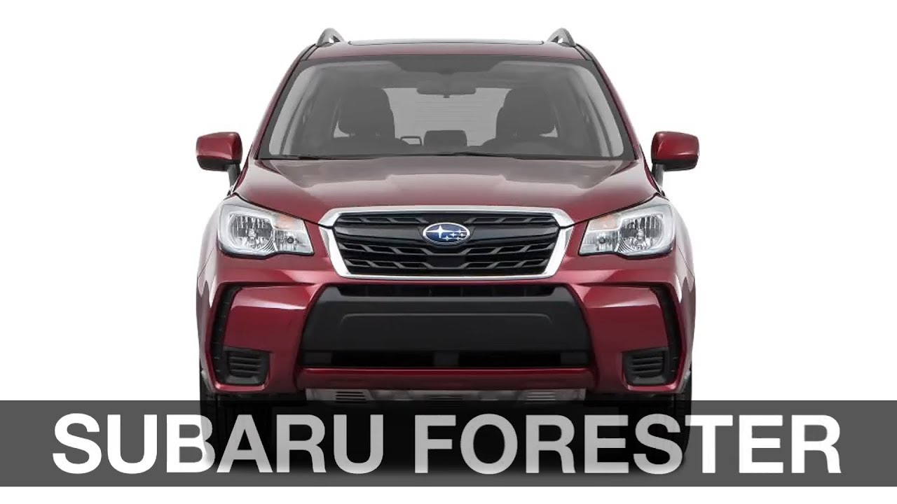 2018 Subaru Forester Model Guide Us Spec