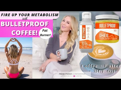 FIRE UP YOUR METABOLISM with BULLETPROOF COFFEE!