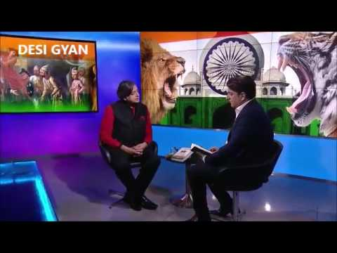 Shashi Tharoor Truth about the Inglorious British Empire SKY NEWS Interview Epic Shutdown