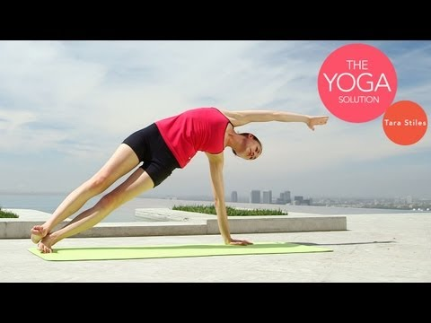 Tank Top Summer Routine | The Yoga Solution With Tara Stiles