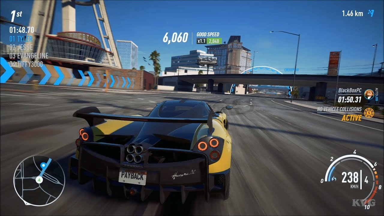 need for speed payback pagani huayra bc test drive. Black Bedroom Furniture Sets. Home Design Ideas