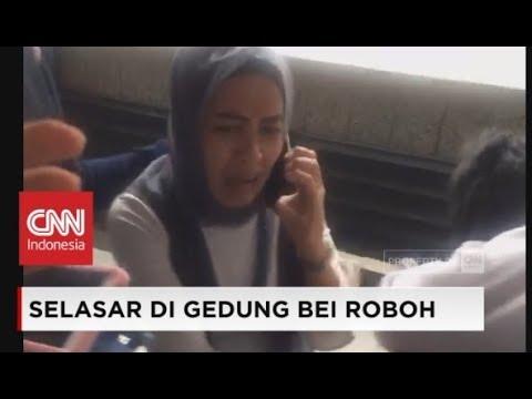Video Amatir: Detik-detik Kepanikan Karyawan BEI Saat Selasar Gedung Bursa Efek Indonesia Ambruk