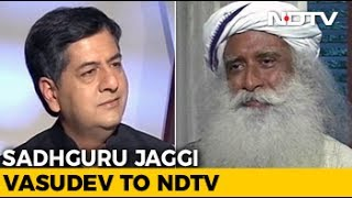 Exclusive: Sadhguru Jaggi Vasudev On Anger And Tackling Trolls