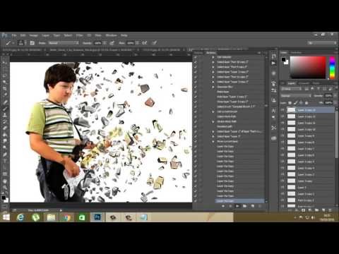 Tutorial Cara Membuat Efek Dispersion di Photoshop | Doovi