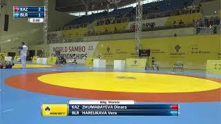 World SAMBO Championships 2019. Day 1. Mat 3