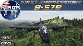 War Thunder - First Impressions: B-57B - Realistic Battle