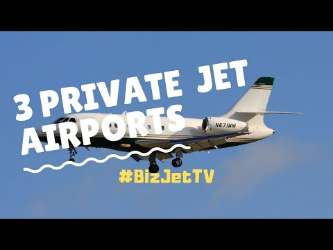 3 Private Jet Airports