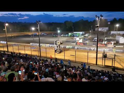 Monster Jam Hagerstown Speedway Highlights 2019