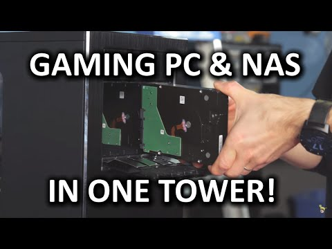 Use your Gaming PC's Extra Power as a NAS Ultimate Guide