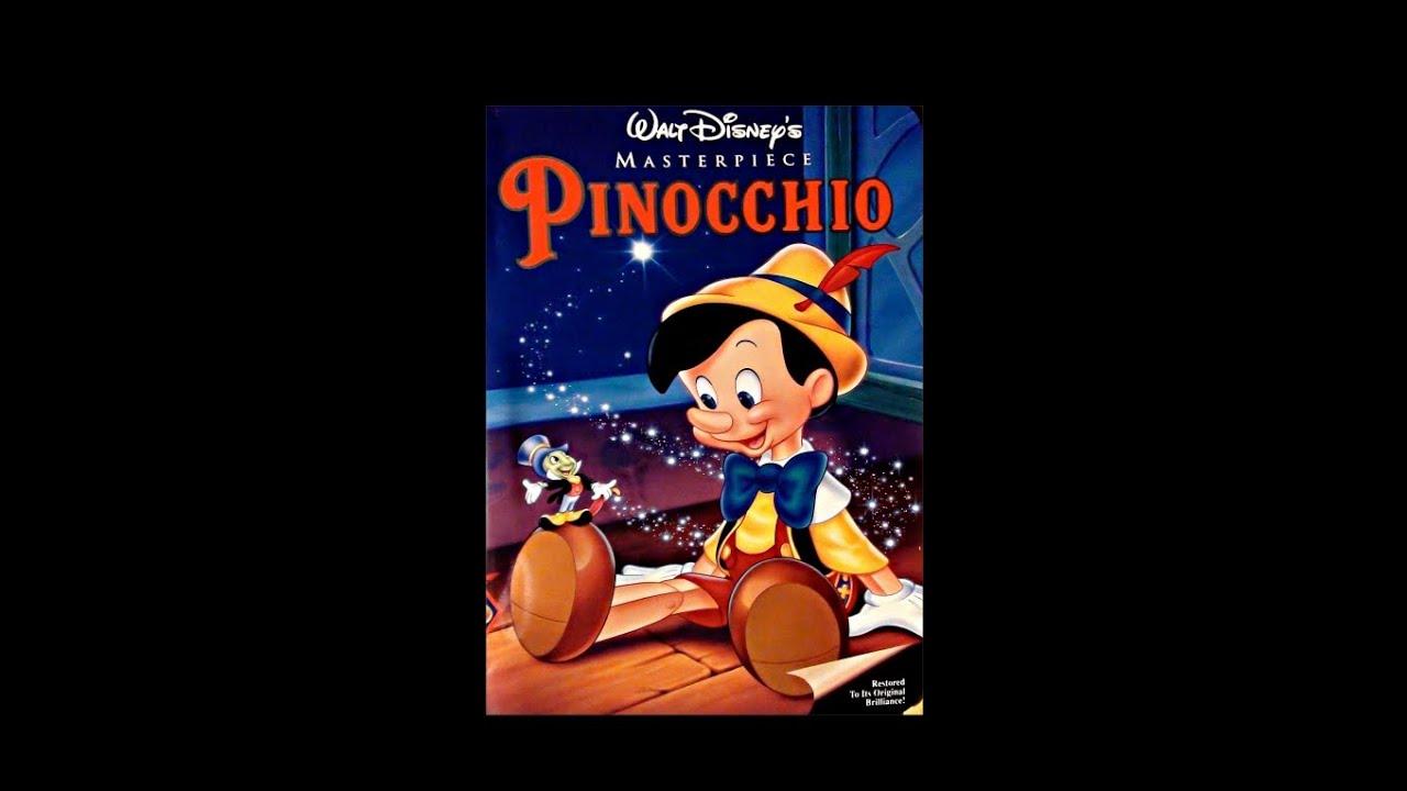 Digitized opening to Pinocchio (USA VHS) - YouTube