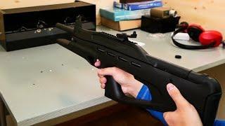 пружинно-поршневая винтовка МР-514К со стрельбой