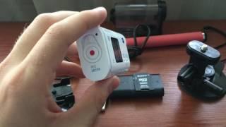 обзор экшен камеры Sony HDR-AS200V