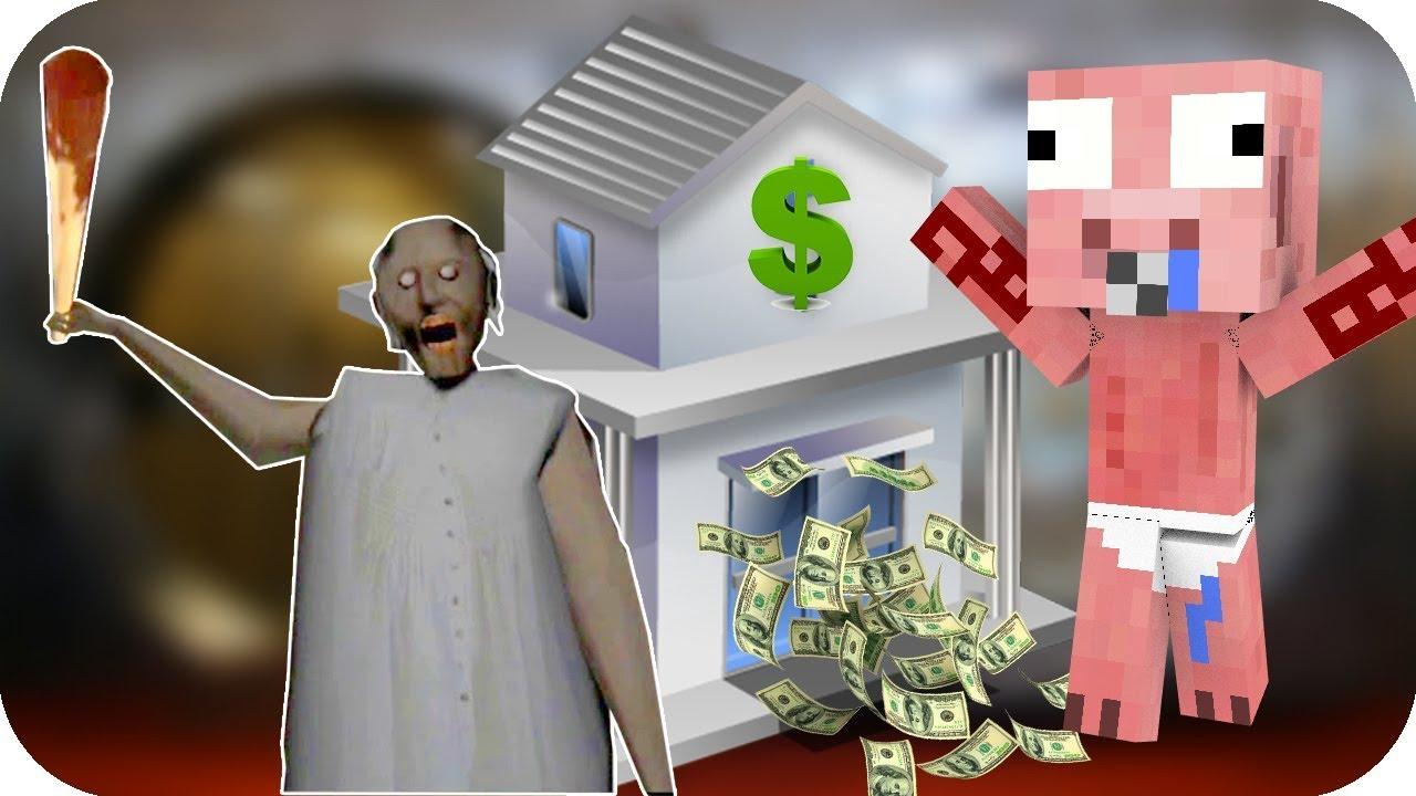 Bebe Aenh Vs Banco De Granny Minecraft Juegos Gratis Pe Youtube