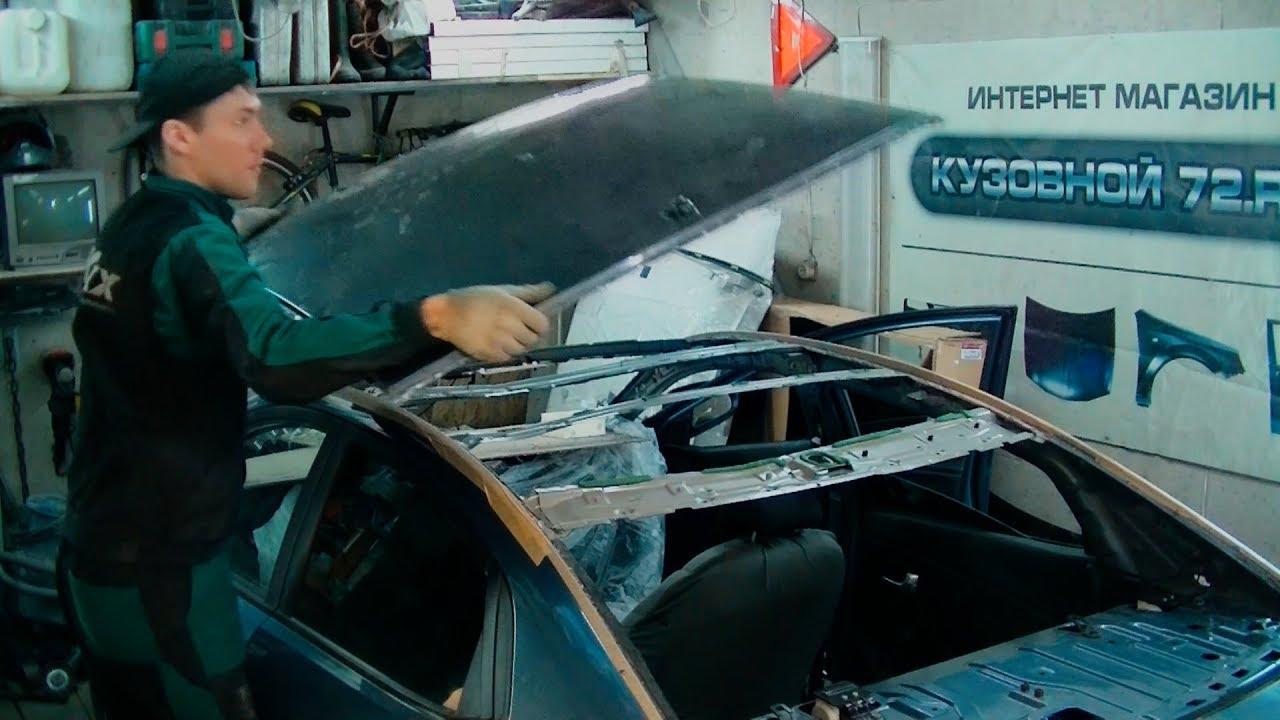 Замена крыши рио Ремонт моторчиков отопителей киа рио стоимость