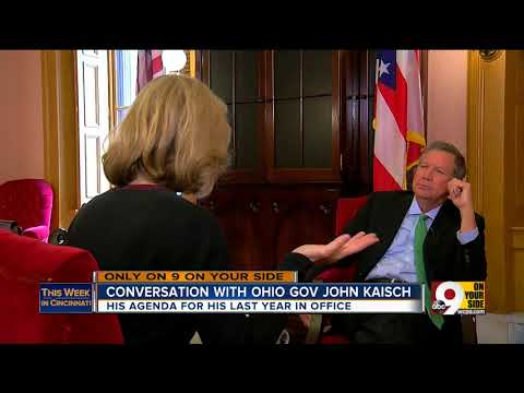 This Week in Cincinnati: Ohio Gov. John Kasich on budget concerns, jobs and presidential rumors