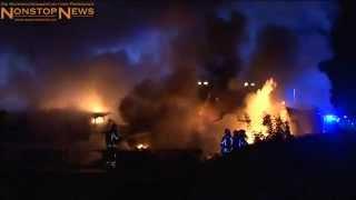 Horrorunfall auf A2: Autofahrer verbrennt in Trümmern