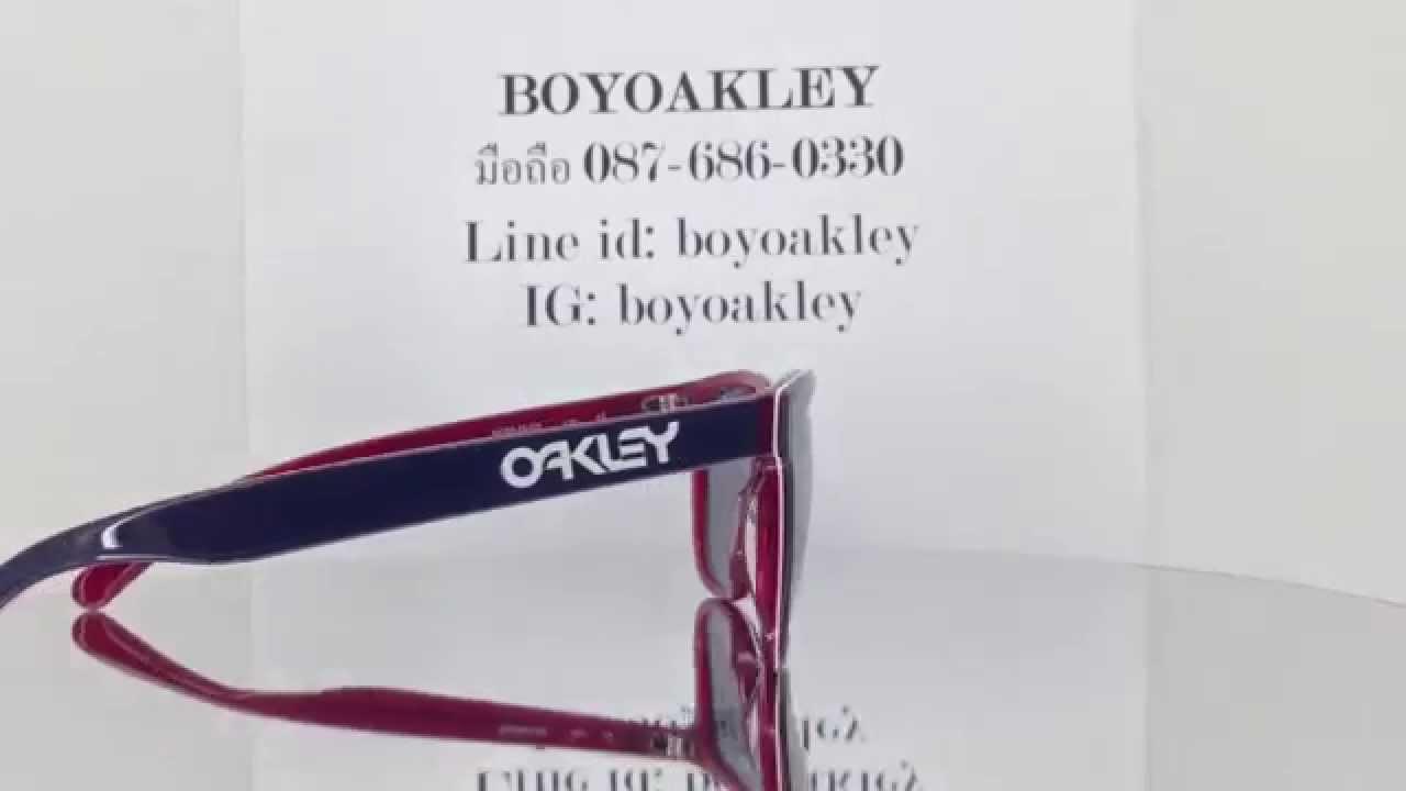 Oakley Frogskins LX oo2043-05 Oakley ของแท้ ถูกสุดในไทย - YouTube dc8d197884