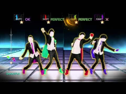 Just Danc 4   What Makes You Beautiful jogando no kinect