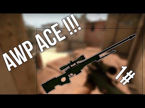 CS:GO Bl0tix Fragmovie | 1# | ACE AWP MIRAGE