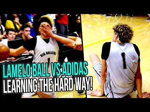 LaMelo Ball ROUGH First Adidas AAU WITHOUT LONZO & GELO! NEW LAYUP PACKAGE UNLOCKED!