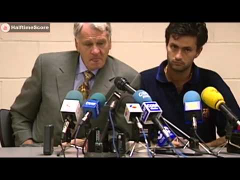 Jose Mourinho Translating For Bobby Robson At Barcelona