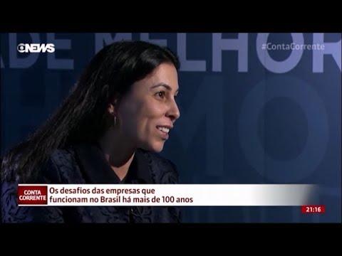 Empresas centenárias - Viviane Martins - Globo News