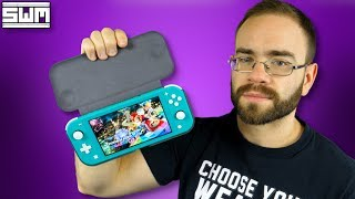 The Switch Lite Flip Cover Is Stronger Than I Thought
