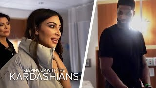 KIM KARDASHIAN + TRISTAN THOMPSON MEET FACE TO FACE AFTER CHEATING SCANDAL 😱😓